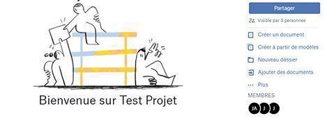 Gérez un projet en groupe avec Dropbox Paper